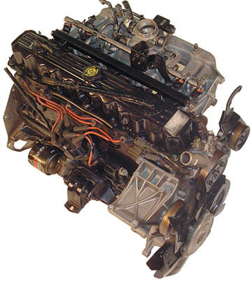 Jeep Engine on 1994 Dodge Dakota Automatic Transmission