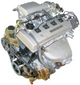 1993-1997 Geo Prizm 1.6L Used Engine