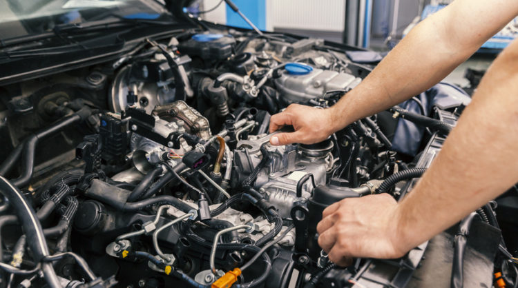 low mileage japanese engines