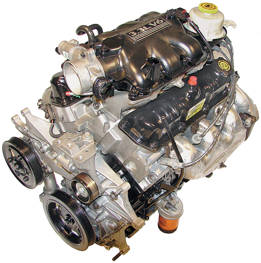 2001-2003 Chrysler Town and Country 3.3L V6 Used Engine ...